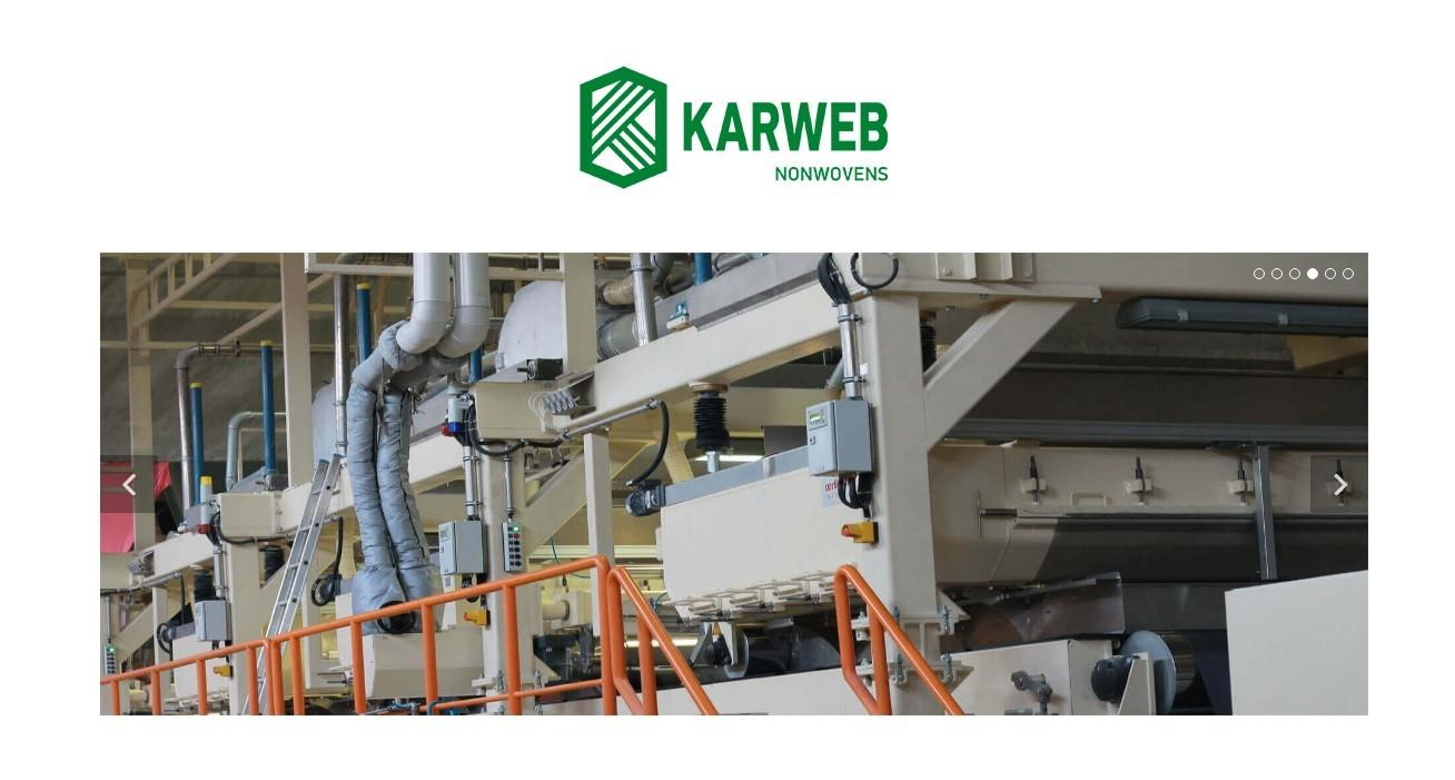 Nonwoven Kumaş Üreticisi KARWEB İkinci Tesisinde Yine Model ERP 'yi tercih etti.